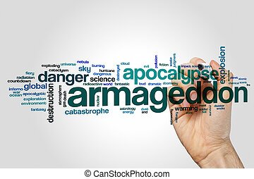 Armageddon word cloud