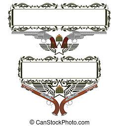 armas, antigas, emblemas