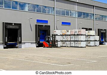 armazém distribuição