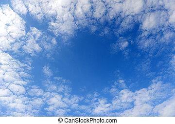 armazón, resumen, clouds.