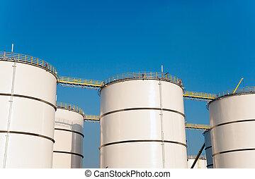 armazenagem óleo