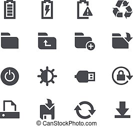 //, armazenamento, energia, apps, interfac
