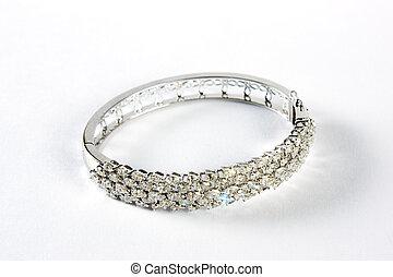 armband, diamant