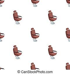 Armchair. Barbershop single icon in cartoon style vector symbol stock illustration web.