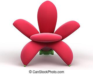 armchair-flower