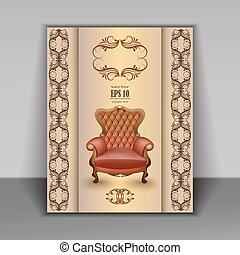 armchair luxury furniture item