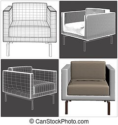 Armchair Vector 20.eps