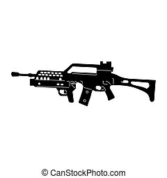 arme, isolé