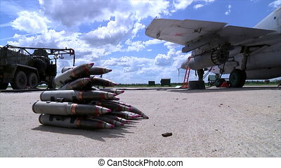 Armed ammunition for military fighter aircraft MIG-29 - A...