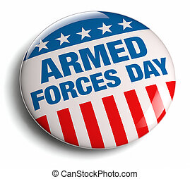 Armed Forces Day design element.