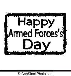 Armed Forces Day Illustration design