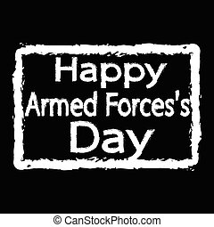 Armed Forces Day Illustration design