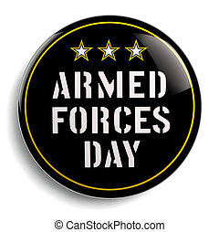 Armed Forces Day USA - American holiday stock image....