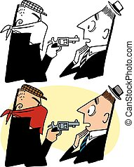 Armed Robbery - A masked criminal commits an armed robbery ...