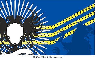 armen, jas, adelaar, crest1, heraldisch