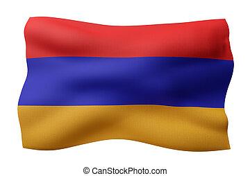 Armenia 3d flag