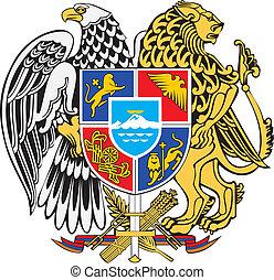 Armenia coa - Various vector flags, state symbols, emblems...