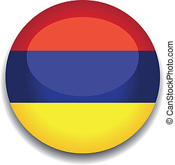 armenia flag button