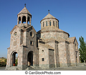 Armenian church. - Armenian church in city...