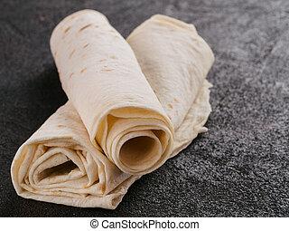 Armenian flat bread lavash
