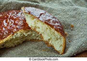 Armenian Gata Bread - popular dessert a lot of Armenians,...