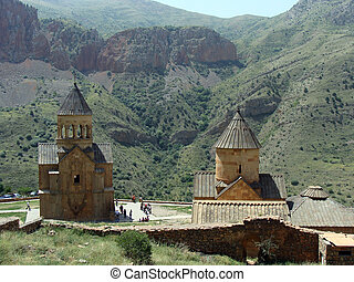 Armenian monastery - Noravank is a 13th-century Armenian...