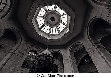 Armenian temple inside