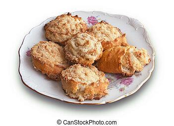 Armenian traditional dessert pastry - gata