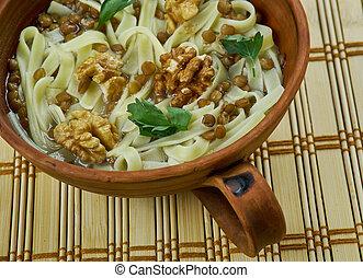 Armenian vospnapur - vospnapur - Armenian dish with noodles...
