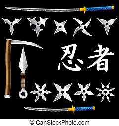 armes, ninja