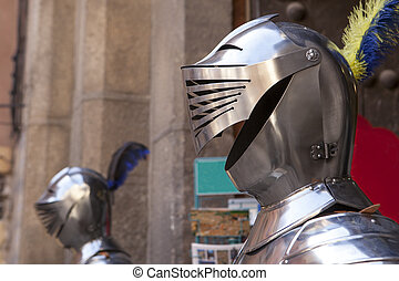 Armor helmet, Toledo, Spain