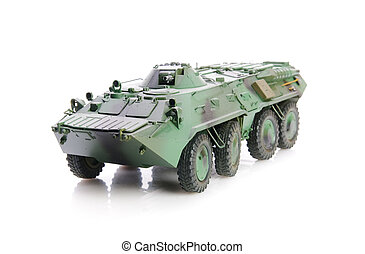 armored personnel carrier - Isolated soviet apc