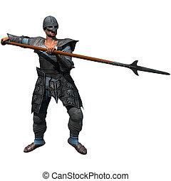 Armored Spearman