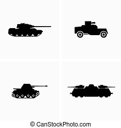 Armoured armed combat fighting vehicles