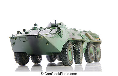 armoured personnel carrier - Isolated soviet apc