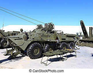 Armoured recovery vehicle