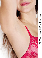 Armpit depilation
