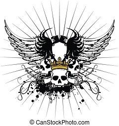 arms7, heraldyczny, marynarka