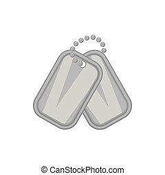 Army badge icon, black monochrome style