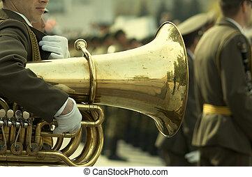 army brass  band