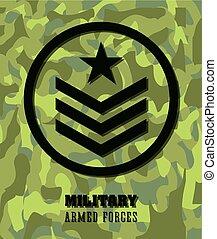 Army design illustration