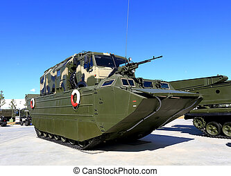 Army floating transporter