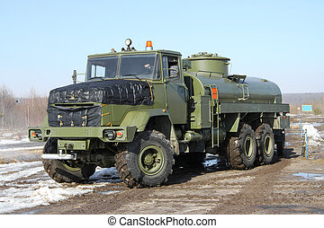 Army fuel truck