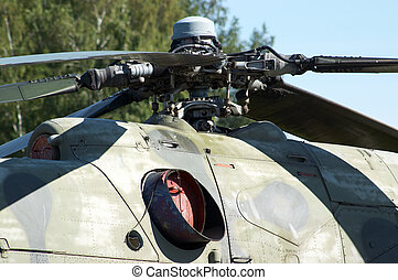 Army helicopter detail