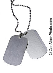 Army ID tags