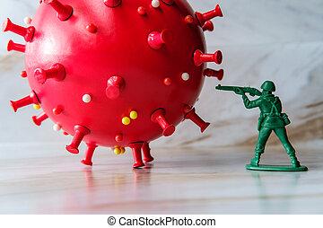 Army Men Fight Coronavirus