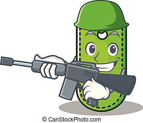 Army price tag character cartoon