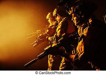 Army Ranger in field Uniforms