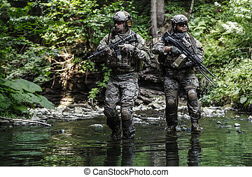 army rangers in the mountains
