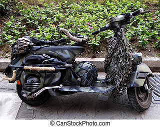 Army scooter